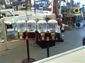 SELECTIVEND Casino Collectible TRIPLE VENDING GUMBALL MACHINE